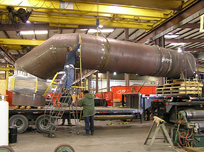 Fabric Expansion Joint for a Sulfuric Acid Plant in Texas (#84906 - 06/07/2006)