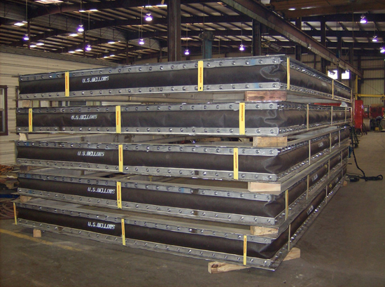 """128"""" x 229"""" Rectangular Fabric Expansion Joints (#91763 - 07/11/2007)"""
