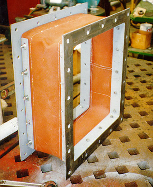 Small Rectangular Fabric Expansion Joint