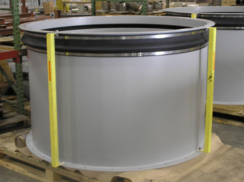 Fabric Expansion Joints for an Air Intake on a Generator Unit (#87025 - 07/11/2006)
