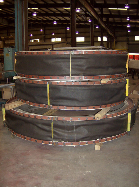 Various Diameter Round Fabric Expansion Joint