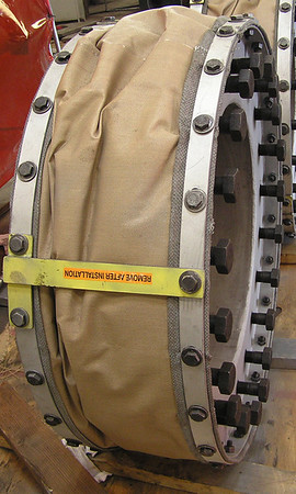 Two Fabric Expansion Joints for an Oil Refinery (#81186 - 03/01/2006)