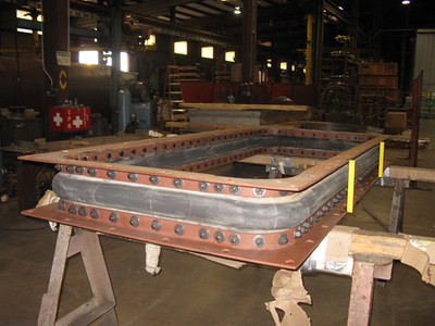 Fabric expansion joint ready for shipping