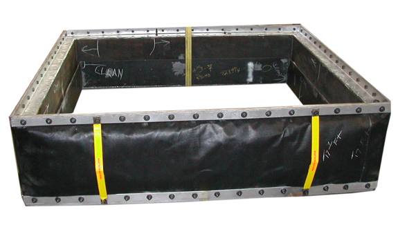 "78"" x 39"" Rectangular Fabric Expansion Joint (03/26/2004)"