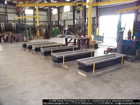 rectangular fabric expansion joints