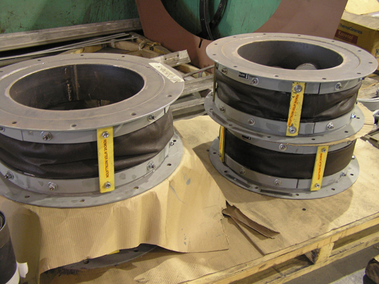 Small Diameter Fabric Expansion Joint