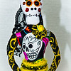 Day of the Dead Art Doll