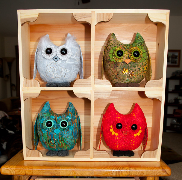Four Element Owl Pals