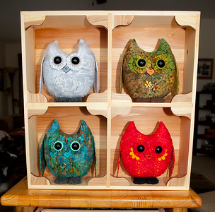 Four Element Owl Pals