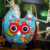 Dia de los Muertos -Stuffed owl Pal $23 + Shipping