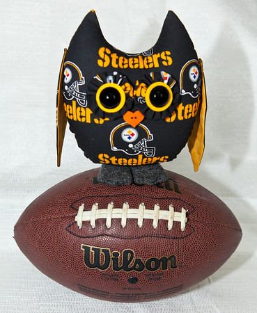 Pittsburg Steeler's Owl Pal - $23 + shipping