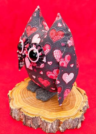 Valentine Owl Pal - $23 + Shipping