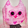 Breast Cancer Awarness -Stuffed Owl Pal $23 + Shipping