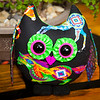 Neon Horse - Stuffed Owl Pal - $23 + Shipping