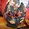 Scull Tatoo Stuffed Owl Pal $23 + Shipping