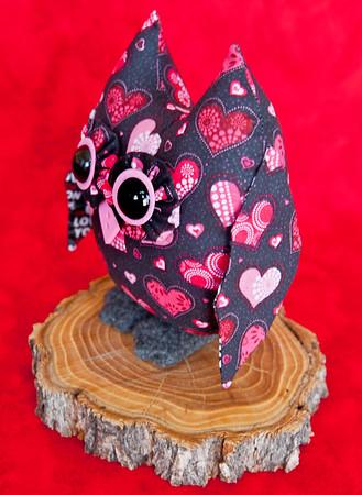 Valentine Owl Pal -$23 + Shipping