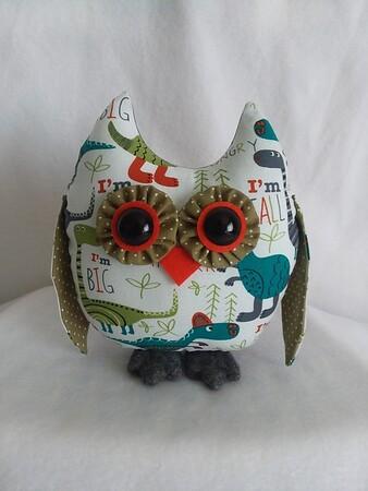 Baby Boy Dinosaur Owl Pal- $23 + shipping