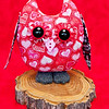 Valentine Owl Pal $23 + Shipping