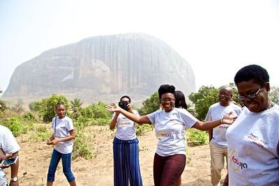 birthday girl loving Zuma Rock