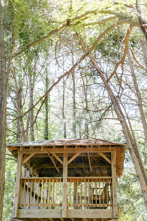 Secret Tree House Wedding