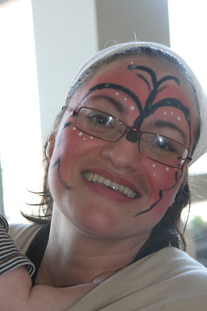 One of our Many Face Painting Traing Sessions