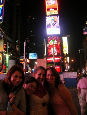 """""""roomies in times square!"""""""