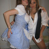 """dorothy and a stripper :) """