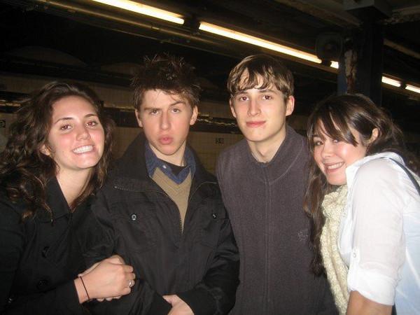 Kelly, Jason, Oliver, Cassie