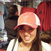 """Callie: """"showing some phillies' pride""""<br /> <br /> From Callie's FB album, """"""""Philly/NJ"""" (May 17, 09')"""