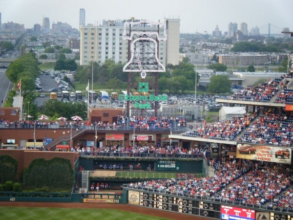 """Callie: """"Phillies' Stadium""""<br /> <br /> From Callie's FB album, """"""""Philly/NJ"""" (May 17, 09')"""