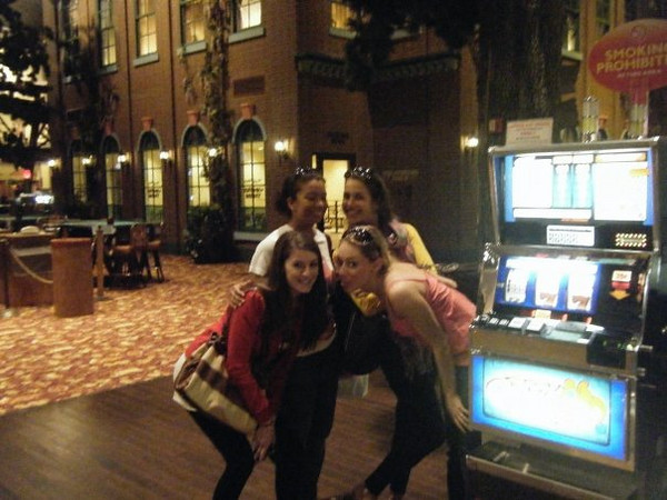 "Callie: ""Atlantic City!! Wild Wild West Casino was pure amazingness.""<br /> <br /> From Callie's FB album, """"Philly/NJ"" (May 17, 09')"