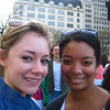 Casey and Kelsey near Fifth Avenue in NYC, the day before Casey's 21st birthday.  On the way to Bloomingdale's to pick up Casey's birthday present!