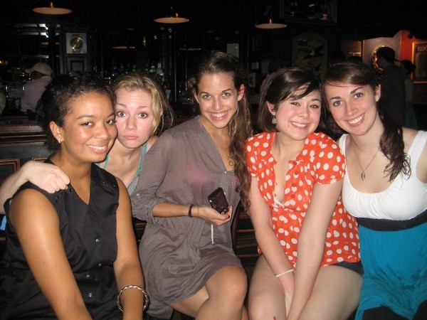 In this photo: kelsey butler, Casey Feldman , Callie Fisher , janine repka,  Cassie Foote Christina Halligan<br /> <br /> See comments below.