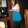 """""""birthday girl claimed she was sober. therefore, we made her walk a straight line in mccoys.""""<br /> <br /> janine repka: i have video that compliments this!! remind me to post it, lol (June 23, 2009 at 10:46pm) <br /> <br />  Christina Halligan: ahaha apparantly not as sober as i thought cuz i totally forgot about this til now! (June 24, 2009 at 6:16pm )<br /> <br /> <br /> In this photo: Christina Halligan"""