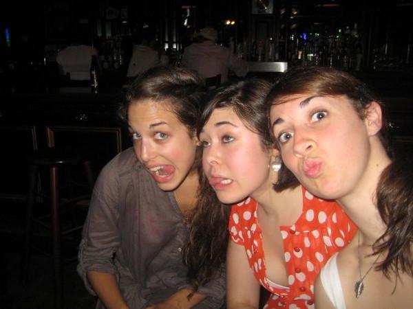 In this photo: janine repka,Cassie Foote,Christina Halligan