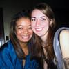 The birthday girl, Kelsey, and Christina at the Snug