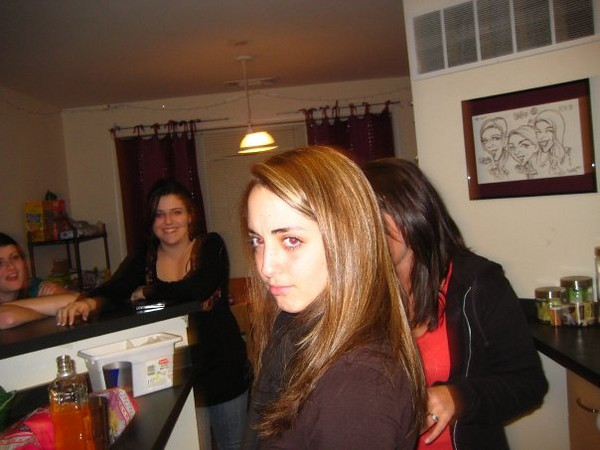 """""""new years eve! jena is amazing"""".<br /> <br /> In this photo: Jena Ferrigno"""