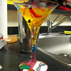 """my cute martini glass from amber"""