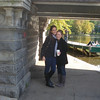 "Brooke: ""Our ""Engagement Picture"" - Once Casey saw this picture, she decided it was our ""engagement picture""-- the picture we'd send out to people to announce our engagement. I think we also decided I was the man, because I was taller haha. We took this under a bridge in the Boston Commons, after looking at squirrels running around and the birds in the lake."