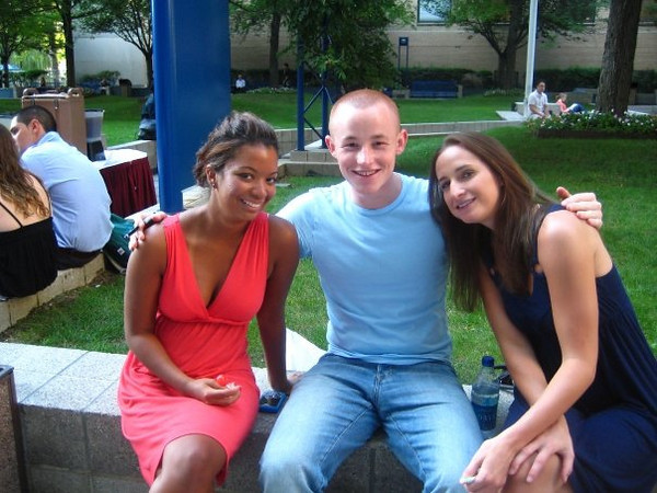Craig: Kelsey, myself, and Brooke were hanging out during a club recruitment day for The Observer.