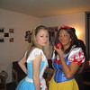 """alice in wonderland and snow white!""<br /> <br /> Casey and roommate, Kelsey Butler"
