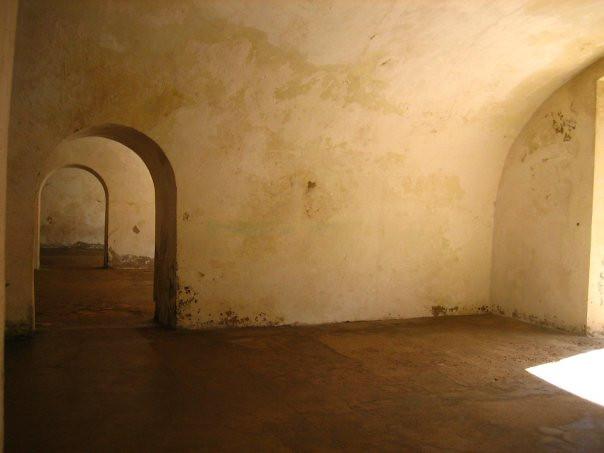 Old Spanish fort, Old San Juan