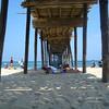 """""""the beach! underneath the pier"""""""
