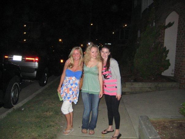 """yay girls""<br /> <br /> Lindsey Burke, Casey and Amber Staska  in Sea Isle City, N.J."
