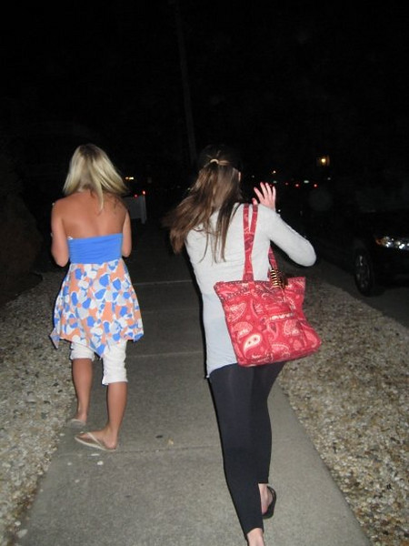 """""""running away from the paparazzi""""<br /> <br /> Of course, we know who this is!!"""