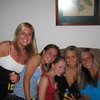 """yay girls""<br /> <br /> Jayme Ricahards, Julianna Jeffers, Casey, Nicole Duffy and Melissa Moritz"