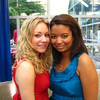"""""""choco nilla reunion!""""<br /> <br /> Casey and Kelsey at the Fordham Reunion"""