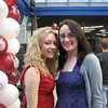 """""""my lover""""  Casey with Meaghan Dillon at the Fordham Reunion. Click here to read Meaghan's memory of Casey,<a href=""""http://caseyfeldmanmemories.org/items/show/76""""> """"Casey as a freshman"""" </a>."""