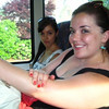 L to R: Katie Feeney and Ashley Wennersherron on the way to the Observer Retreat, June 2008
