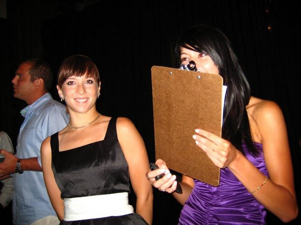 """""""yayyy interns!""""<br /> <br /> In this photo: Shannon McDonald (right)"""